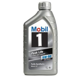 Mobil 1 PEAK LIFE 5W-50 (1 л)