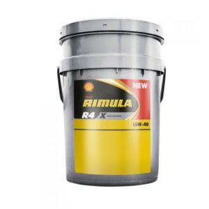 SHELL Rimula R4 Х 15W-40 (20 л)