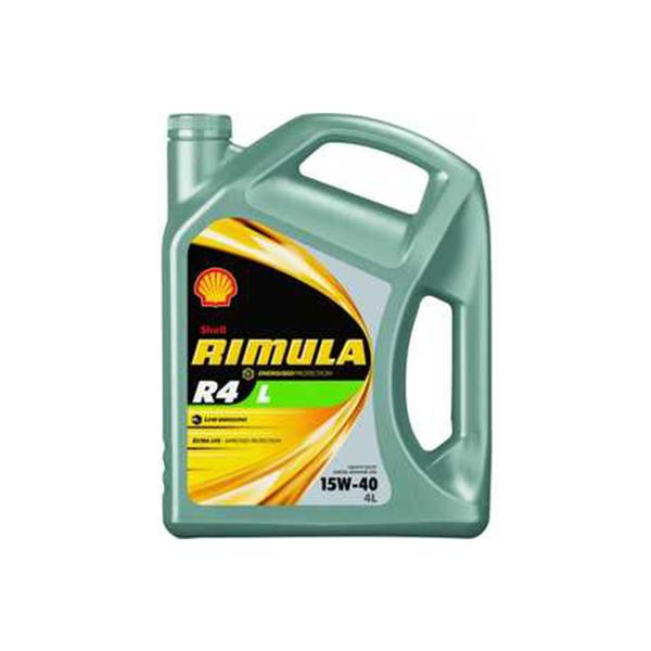 SHELL Rimula R4 L 15W-40 (4л)