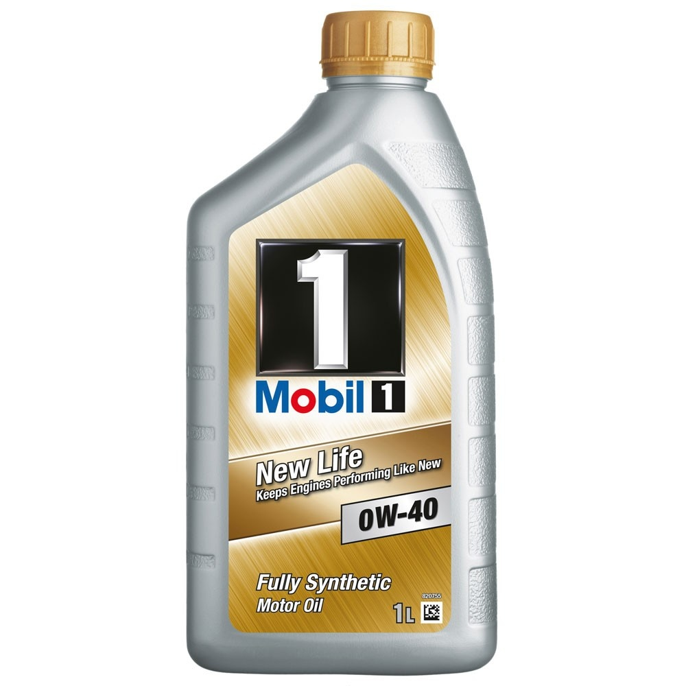 Mobil 1 NEW LIFE 0W-40 (1 л)