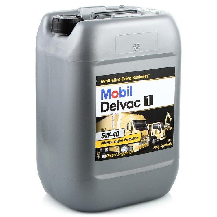 Mobil Delvaс 1 5W-40 (20 л)