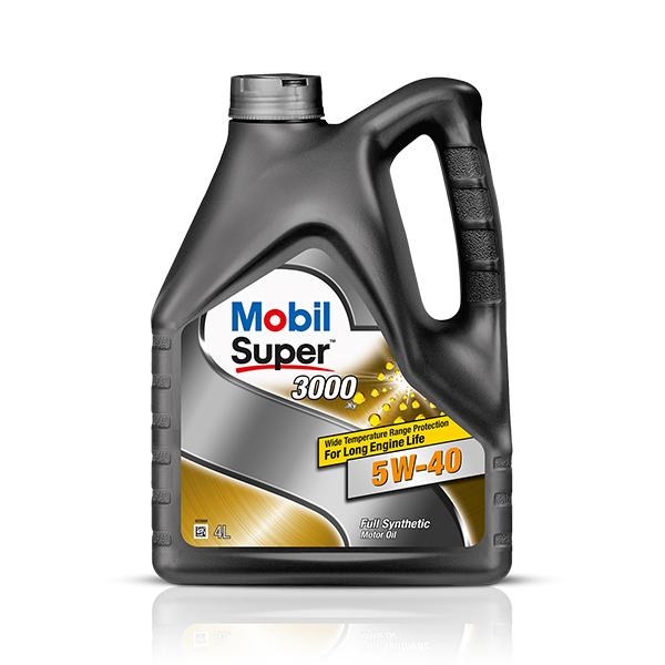 Mobil Super 3000 Diesel 5W-40 (4 л)