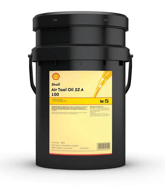 SHELL Air Tool Oil S2 A 100 (20 л)