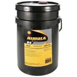 SHELL Rimula R4 Multi 10W-30 (20 л)