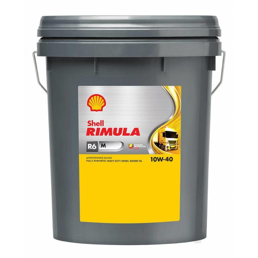 SHELL Rimula R6 M 10W-40 (20 л)