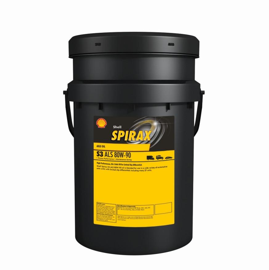 SHELL Spirax S3 ALS 80W-90 (20 л)