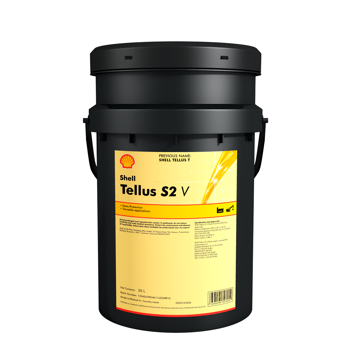 SHELL Tellus S2 V 68 (20 л)