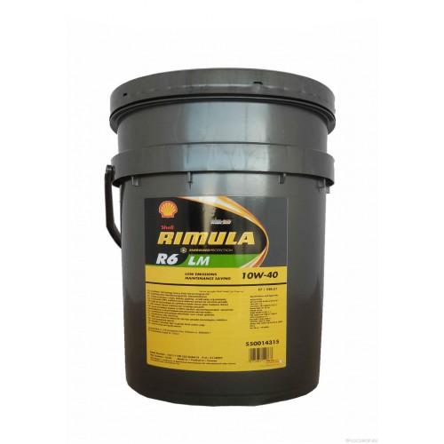 SHELL Rimula R6 LM 10W-40 (20 л)