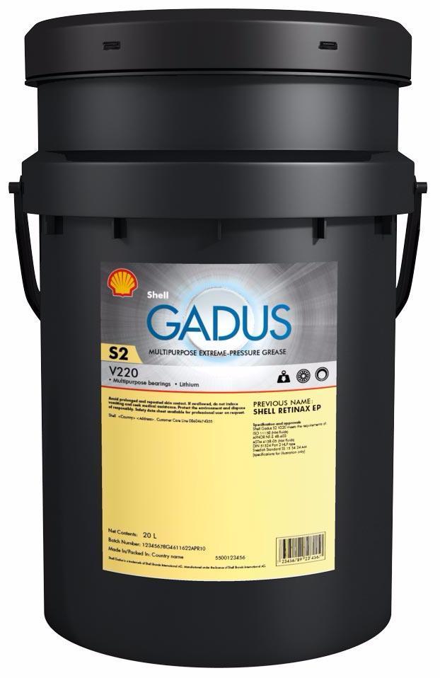 SHELL Gadus S2 V220 00 (18 кг)