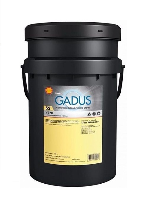 SHELL Gadus S2 V220 AD 1 (18 кг)