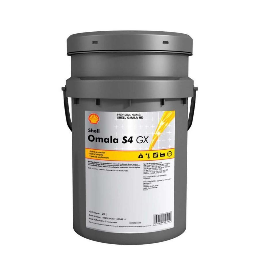 SHELL Omala S4 GX 220 (20 л)
