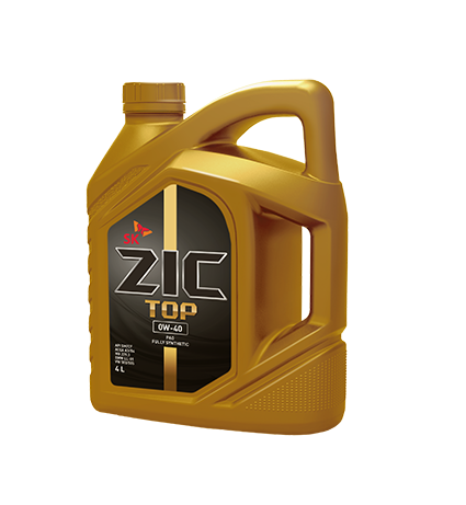 ZIC TOP 0W-40 4 л