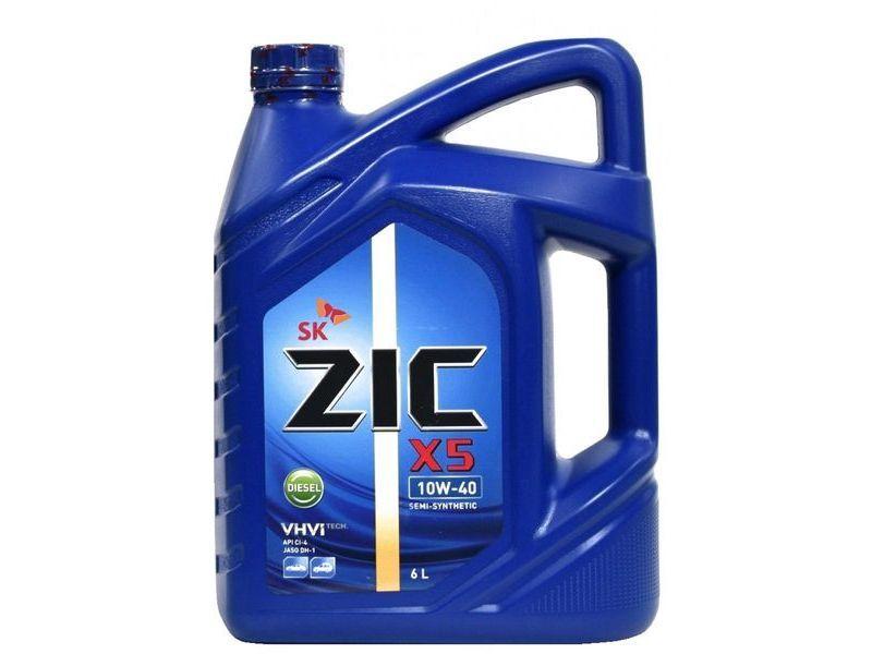 ZIC X5 10W-40 (6 л)