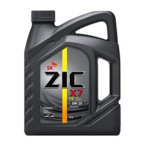 ZIC X7 FE 0W-20 4л