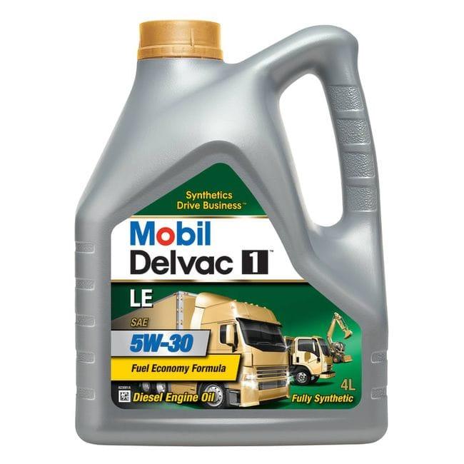 Mobil Delvac 1 LE 5W-30 (4 л)