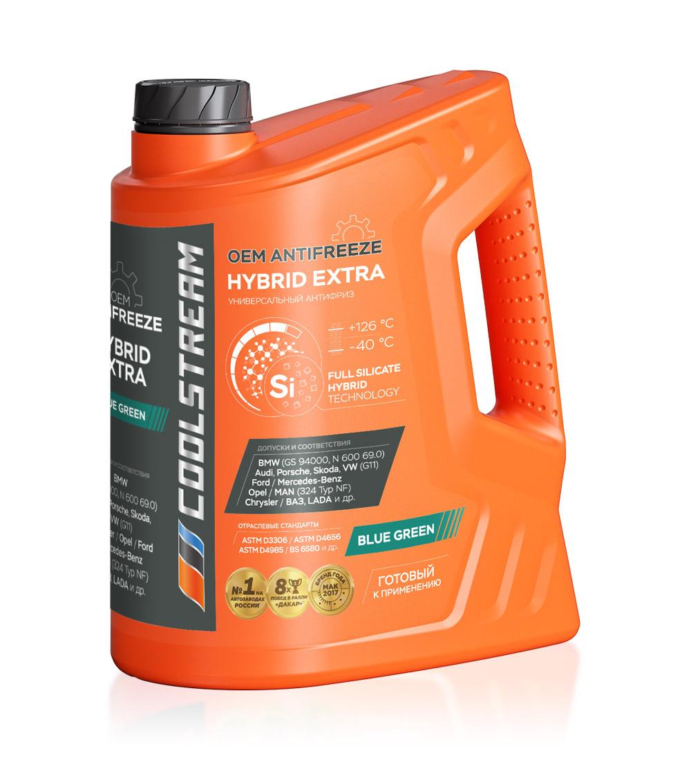 Антифриз CoolStream HYBRID EXTRA (5 кг)