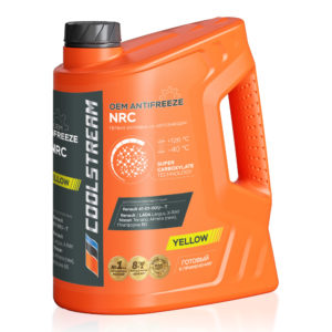 Антифриз CoolStream NRC Yellow (5 кг)