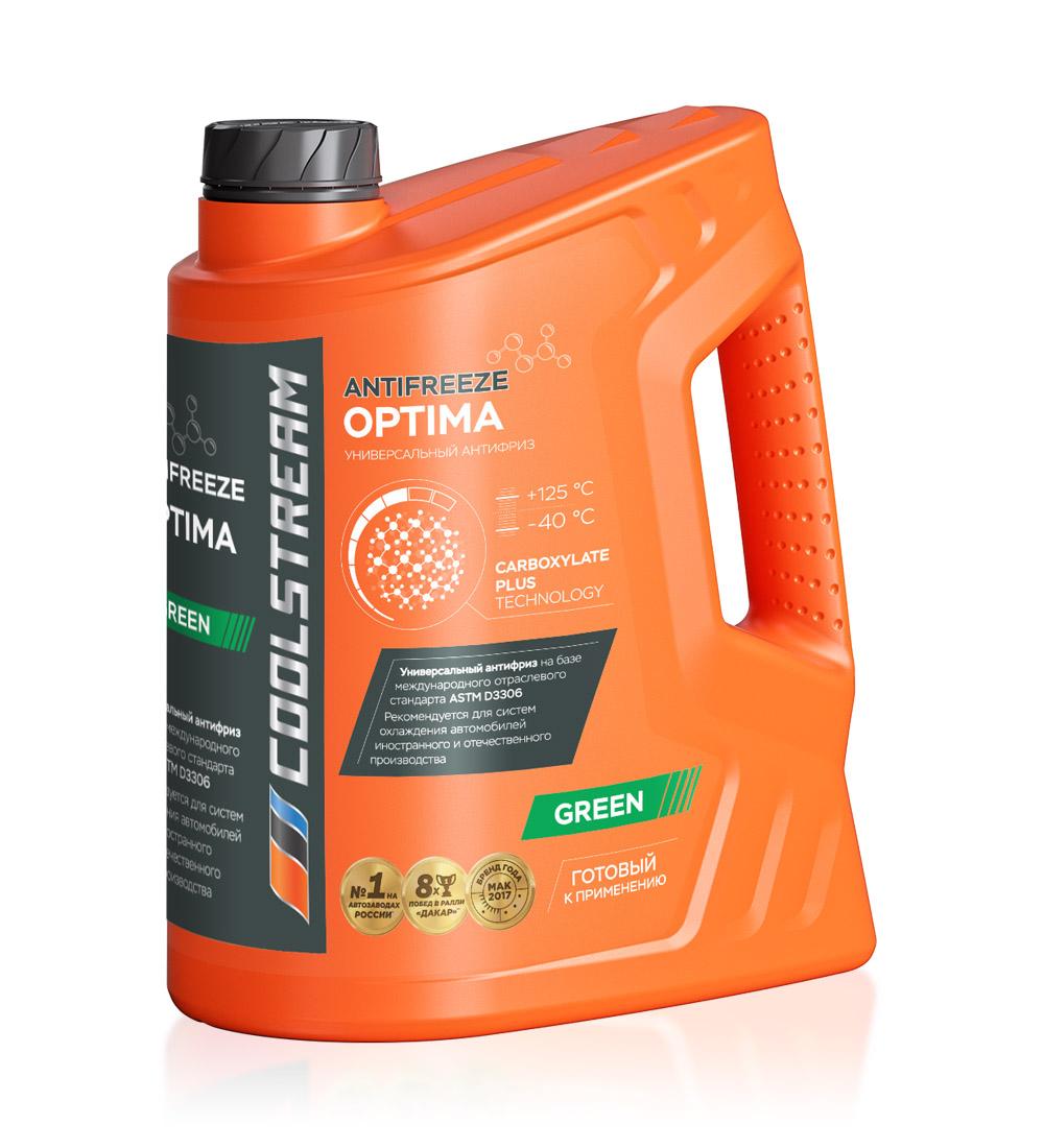 Антифриз CoolStream Optima Green (5 кг)