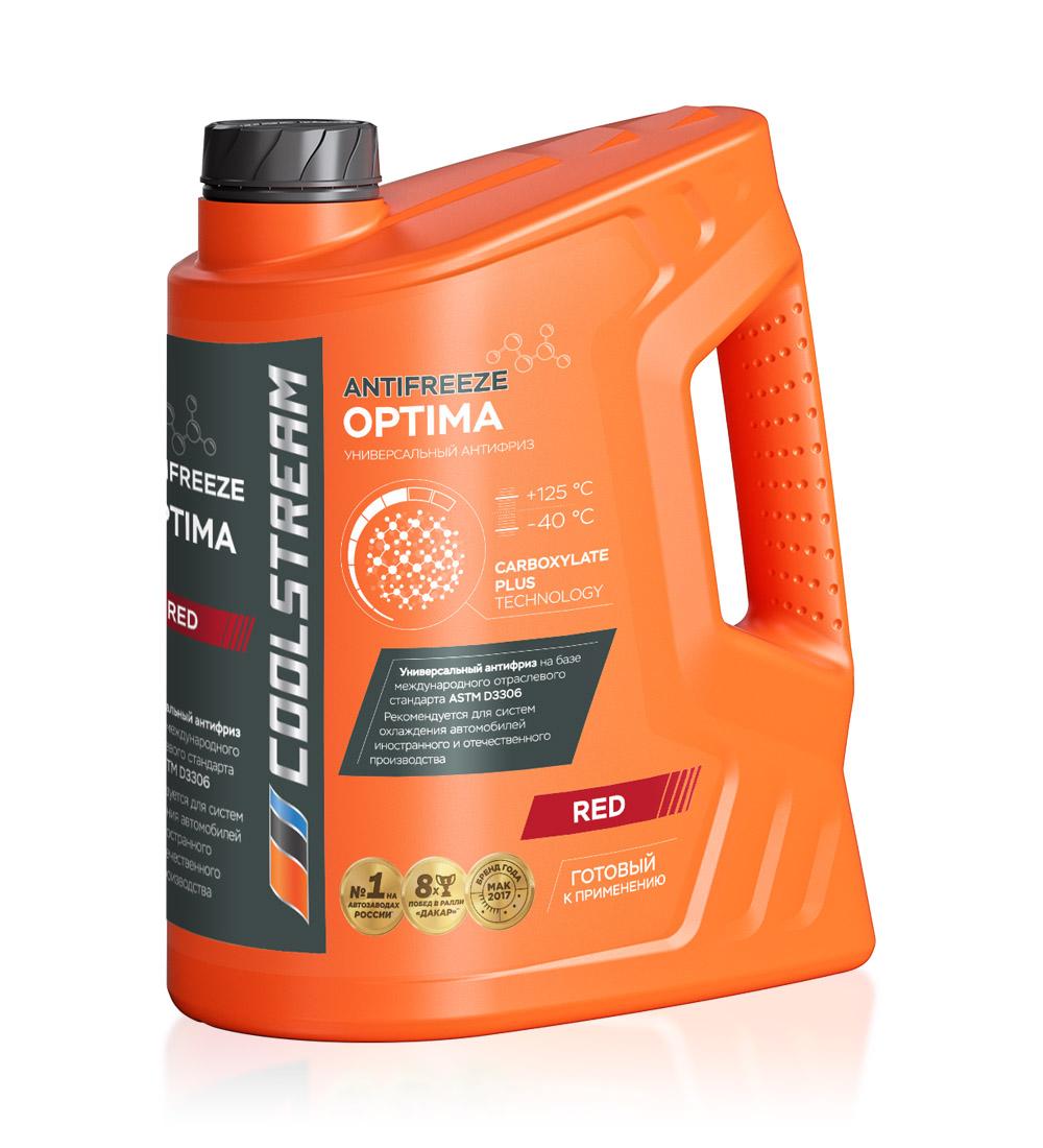 Антифриз CoolStream Optima Red (5 кг)