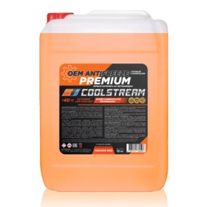 Антифриз CoolStream Premium 40 Orange Red (10 кг)