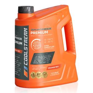 Антифриз CoolStream Premium 40 Orange Red (5 кг)