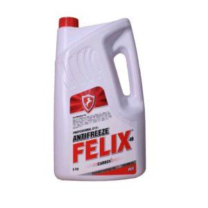 Антифриз FELIX Carbox -40 (красный) (5 кг)