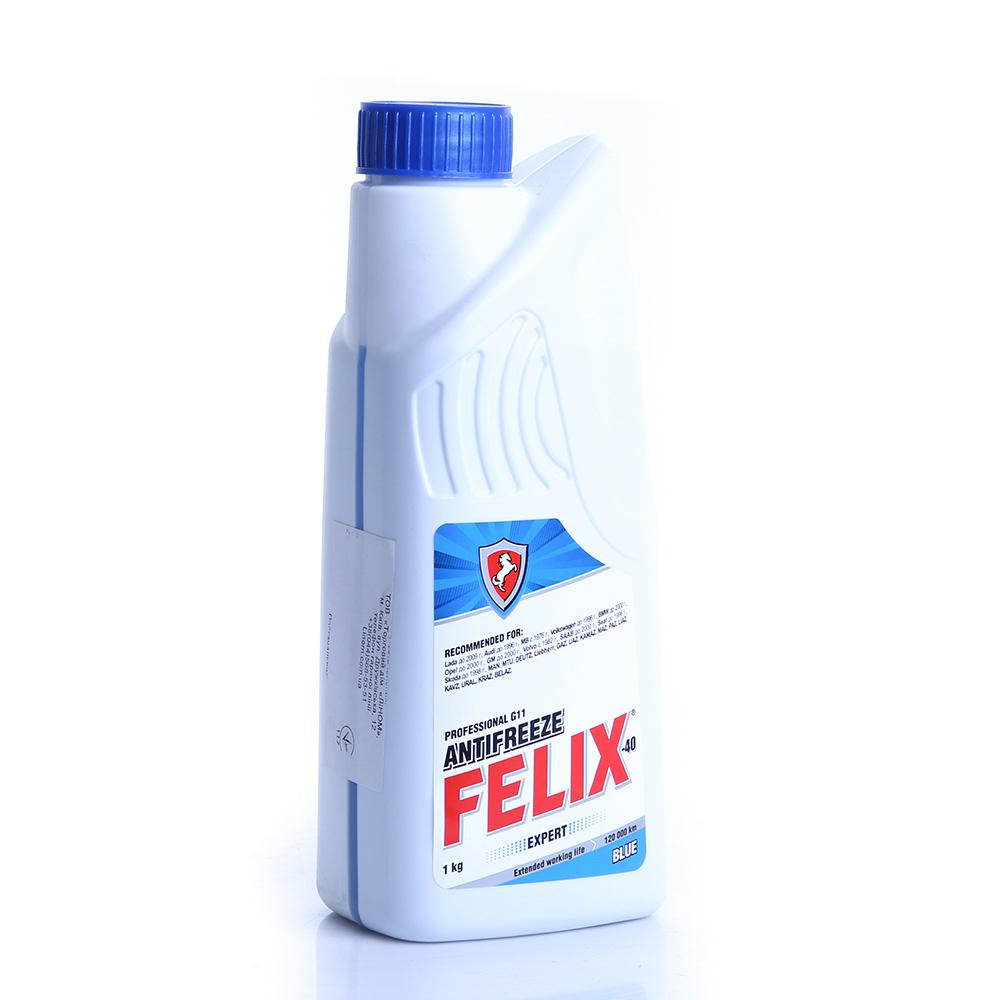 Антифриз FELIX EXPERT (синий) (1 кг)