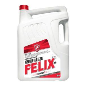 Антифриз FELIX Carbox -40 (красный) (10 кг)