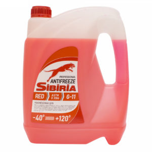 SIBIRIA Antifreeze ОЖ-40 G11 красный (5 кг)