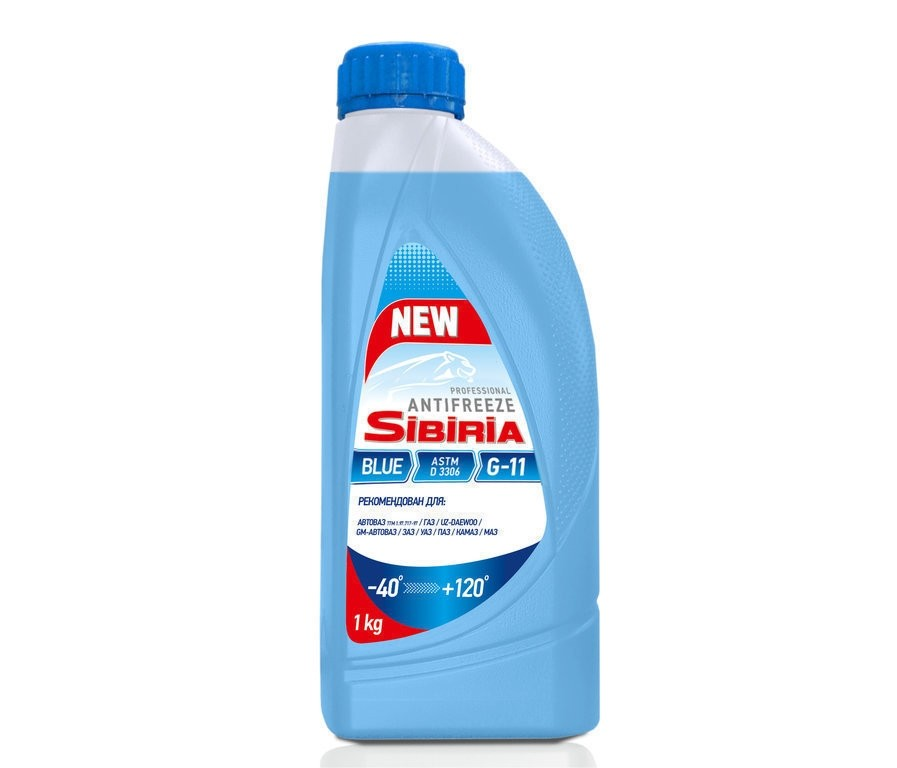 SIBIRIA Antifreeze ОЖ-40 G11 синий (1 кг)