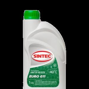 Sintec ANTIFREEZE EURO (зеленый) G11 (1 кг)