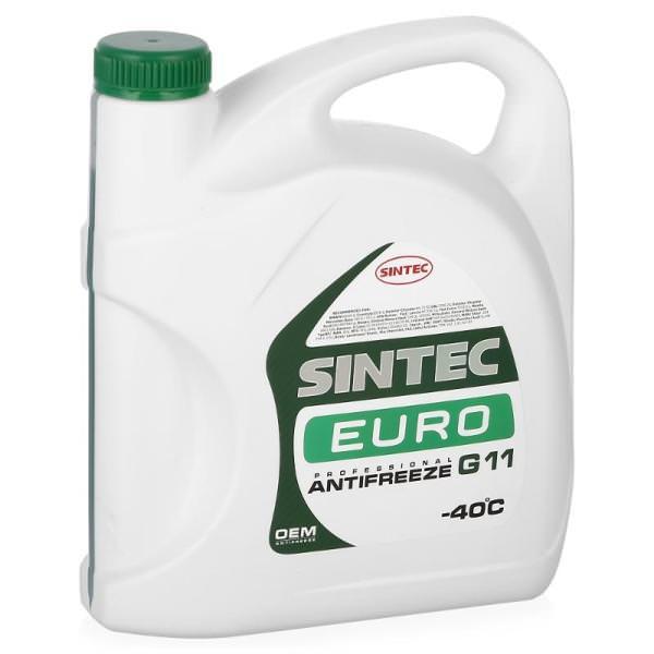 Sintec ANTIFREEZE EURO (зеленый) G11 (5 кг)