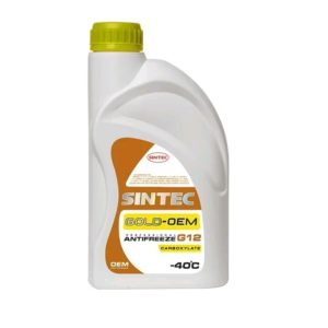 Sintec ANTIFREEZE GOLD (желтый) G12 (1 кг)
