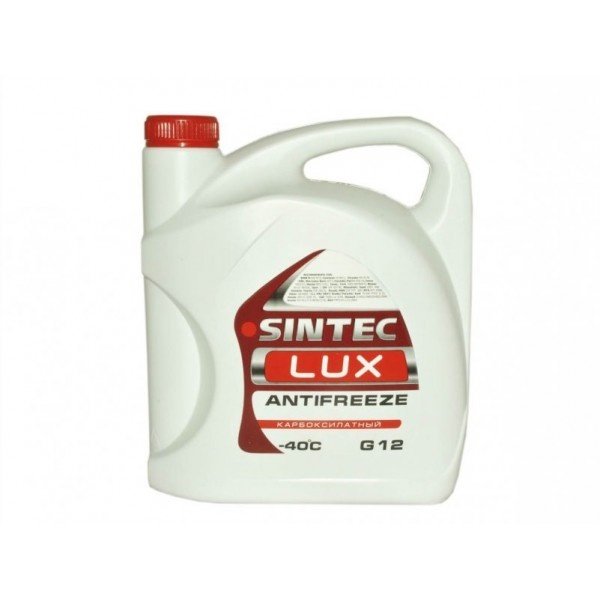 Sintec ANTIFREEZE LUX (красный) G12 (3 кг)