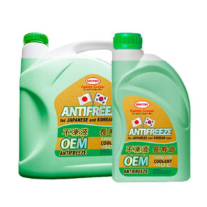 Sintec ANTIFREEZE OEM for JAPANESE and KOREAN cars Green (5 кг)