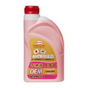 Sintec ANTIFREEZE OEM for JAPANESE and KOREAN cars Red (1 кг)