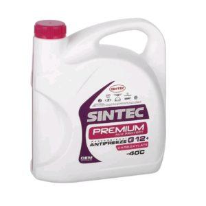 Sintec ANTIFREEZE PREMIUM (малиновый) G12+ (5 кг)