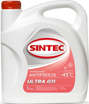 Sintec ANTIFREEZE ULTRA (красный) G11 (5 кг)