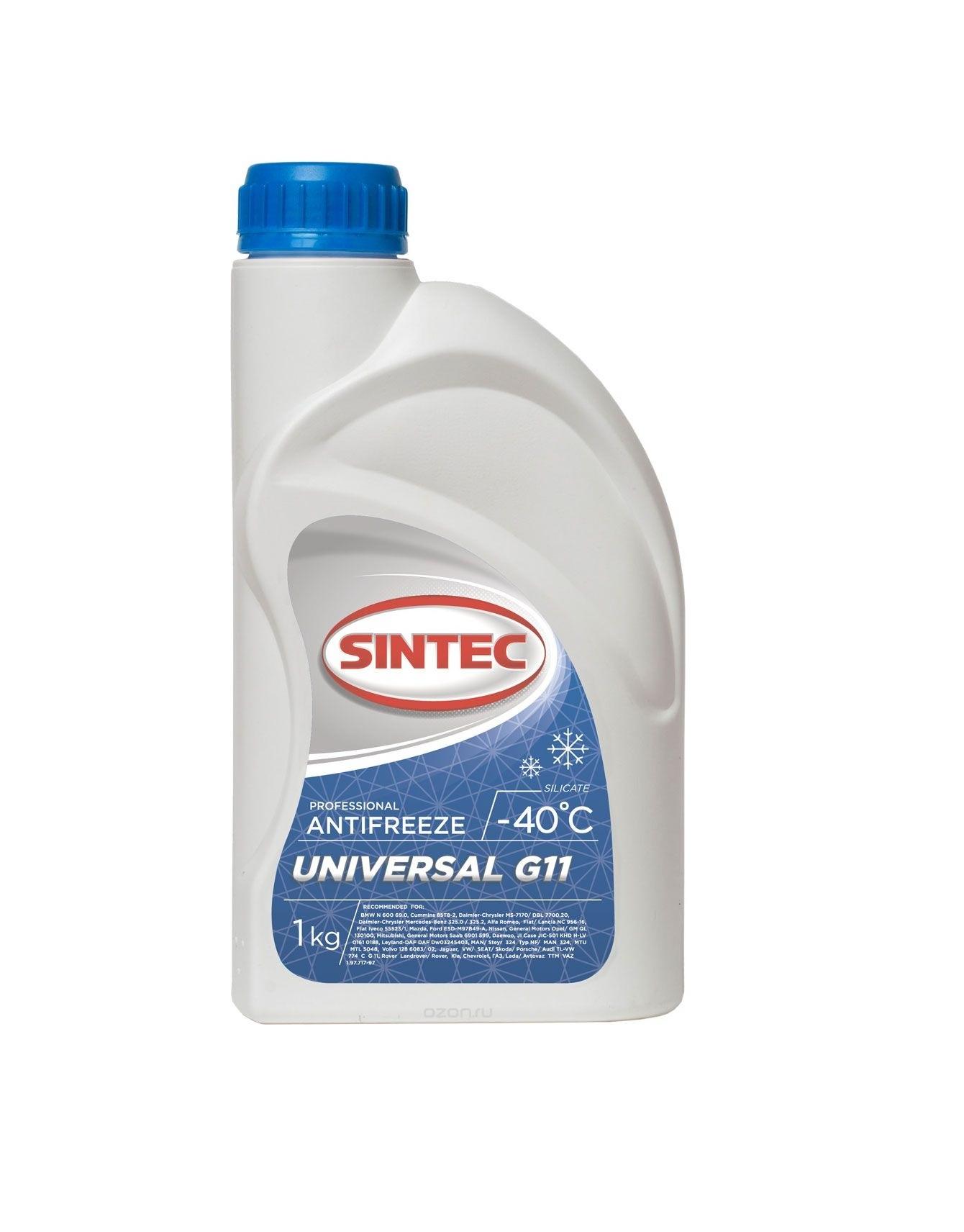 Sintec ANTIFREEZE UNIVERSAL G11 концентрат (1 кг)