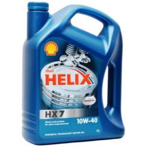 Shell Helix HX7 10W-40 (4 л)