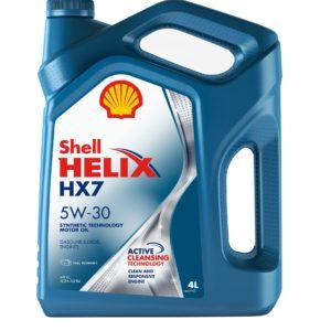 Shell Helix HX7 5W-30 (4 л)