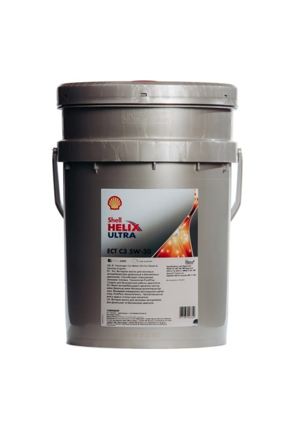 Shell Helix Ultra ECT C3 5W-30 (20 л)