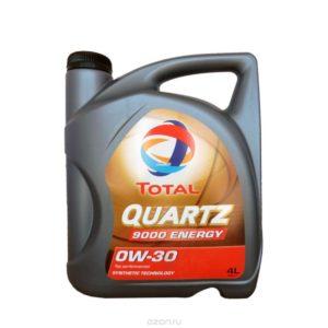 TOTAL QUARTZ 9000 ENERGY 0W-30 (4 л)