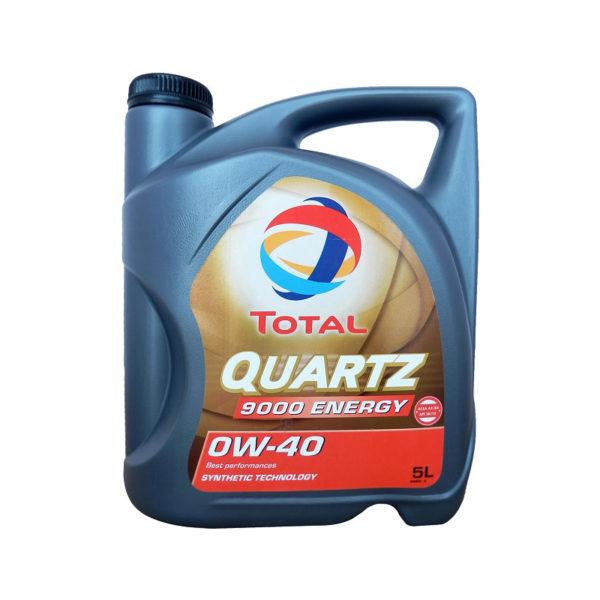 TOTAL QUARTZ 9000 ENERGY 0W-40 (5 л)