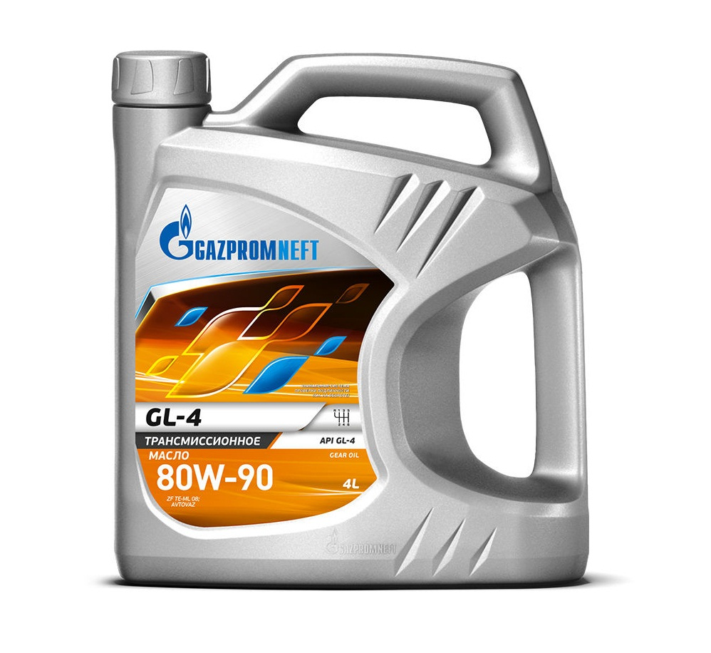 Газпромнефть GL-4 80w-90 4 л