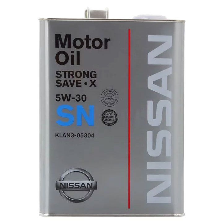 Nissan SN Strong Save X 5W-30 (4 л)