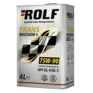 ROLF TRANSMISSION PLUS 75W-90 GL-4/GL-5 4л
