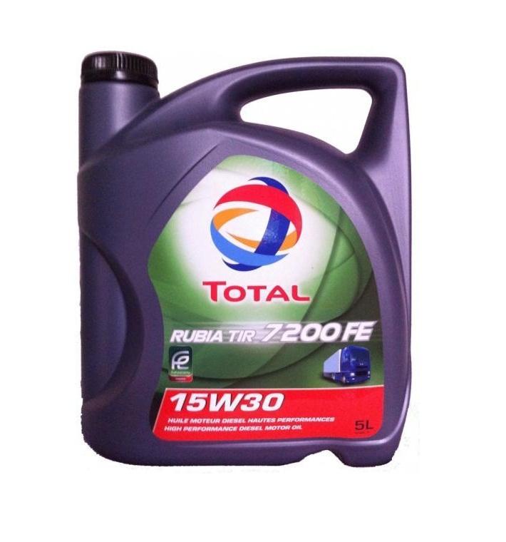 TOTAL RUBIA TIR 7200 FE 15W-30 (5 л)