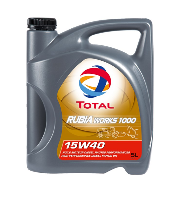 TOTAL RUBIA WORKS 1000 15W-40 (5 л)
