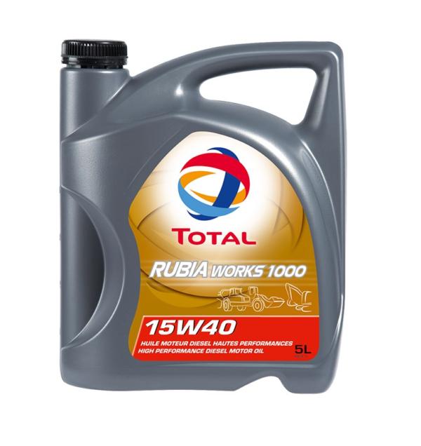 TOTAL RUBIA WORKS 1000 15W-40 (5 л)